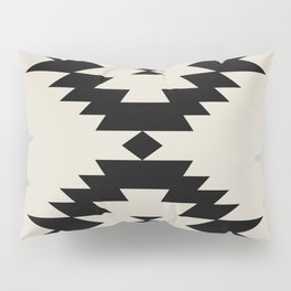Southwestern Minimalism - Black Pillow Sham