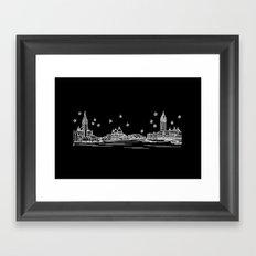 Venezia (Venice), Italy City Skyline Framed Art Print