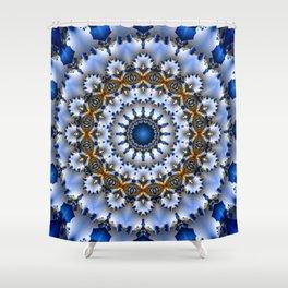 Mandala deluxe Shower Curtain