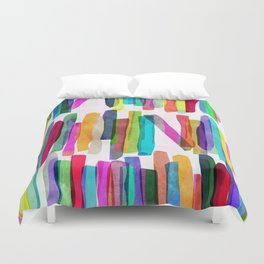Colorful Stripes 5 Duvet Cover
