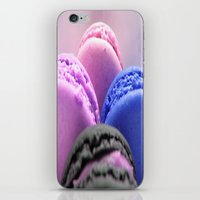 macaroons iPhone & iPod Skins featuring macaroons by WhimsyRomance&Fun