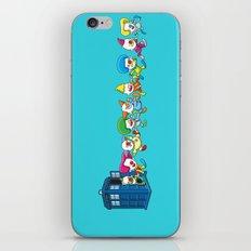 Clown Tardis iPhone & iPod Skin