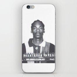 Snoop Dogg Mugshot iPhone Skin