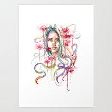 Higanbana Art Print