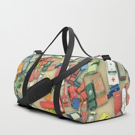 Traffic Jam Duffle Bag