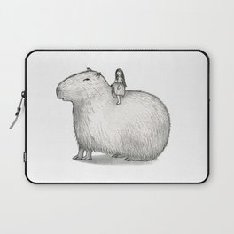 I LOVE CAPYBARA Laptop Sleeve