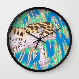 Leopard Gecko Whirlwind Wall Clock