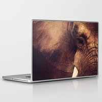 strong Laptop & iPad Skins featuring Strong by DONIKA NIKOVA - Art & Design