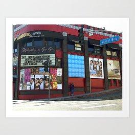 The Whisky A Go Go Art Print