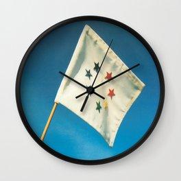 Earth Flag Wall Clock