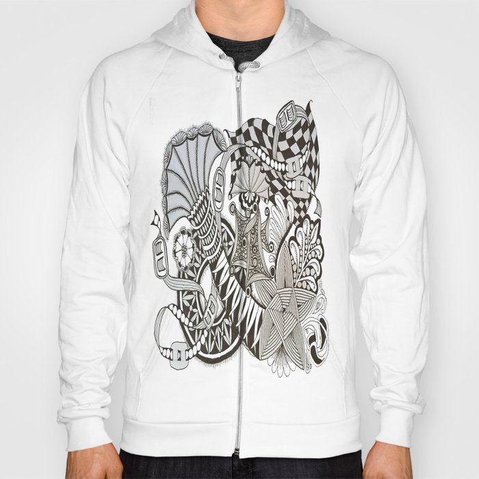 Zentangle i95 Hoody