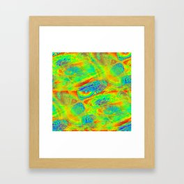 Abstract Funtime Framed Art Print