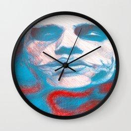 The Jokester Wall Clock