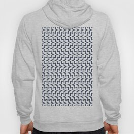 Geometric Sea Urchin Pattern - Navy #494 Hoody