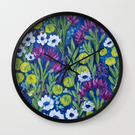 Growing Wilder Wall Clock