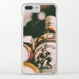 Captain Morgan Clear iPhone Case