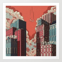 Dream - Free Fall Art Print