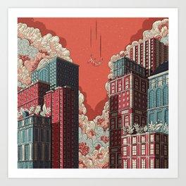 Dream - Free Fall Art Print
