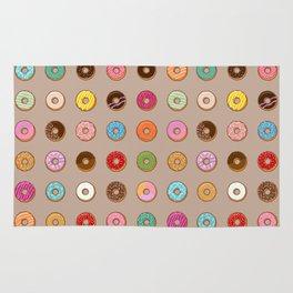 Colorful Doughnuts Rug