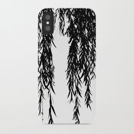willow bw iPhone Case