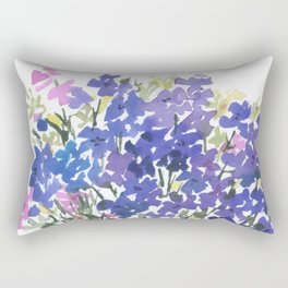 All The Blues Rectangular Pillow