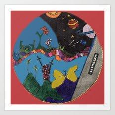 Canica 5 Art Print