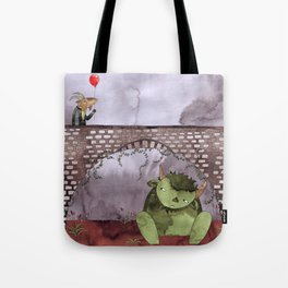 Billy was having such a splendid day Tote Bag