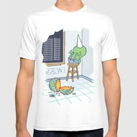 Shallow Ones 2 White Mens Fitted Tee X-LARGE