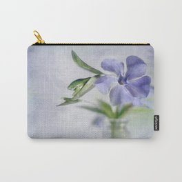 Periwinkle in vial Art #2 Carry-All Pouch