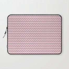 Chevron Rose Laptop Sleeve