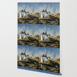 Windmills of Castilla la Mancha Wallpaper