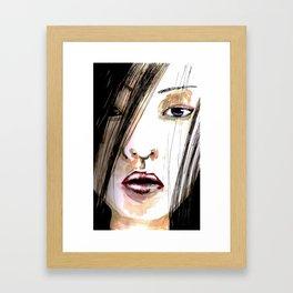 Jap Girl  Framed Art Print