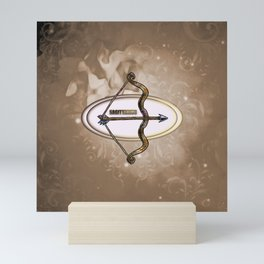 Zodiac sign sagitarius Mini Art Print