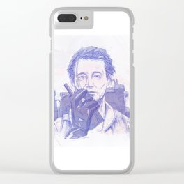 Bill Murray // Ghostbusters Clear iPhone Case