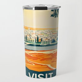 Vintage poster - Palestine Travel Mug