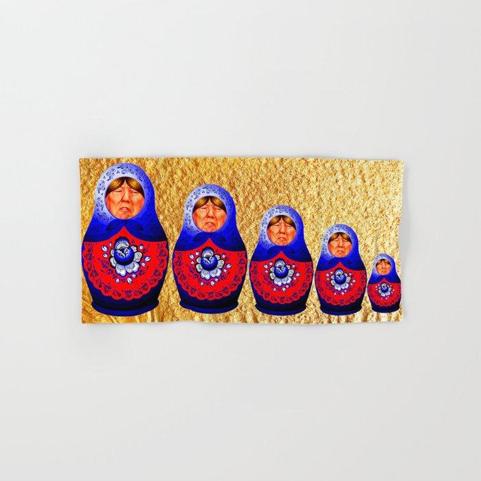 Trampbushka | Funny | Comedy Hand & Bath Towel