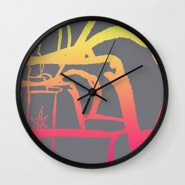 25 Lighters Wall Clock