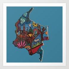 CANICA 2 Art Print