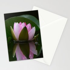 Reflecting Water Lily Stationery Cards