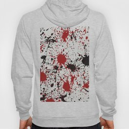 Action Painting No 19 By Chad Paschke Hoody
