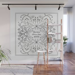 Happiness Blooms  Wall Mural