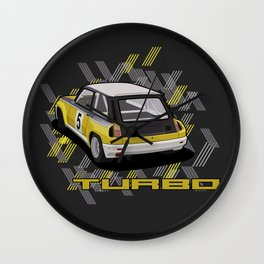R5 Turbo Wall Clock