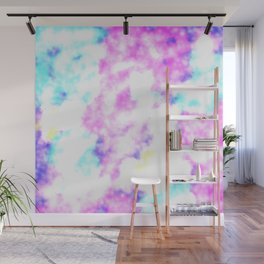 Cotton Candy Wall Mural