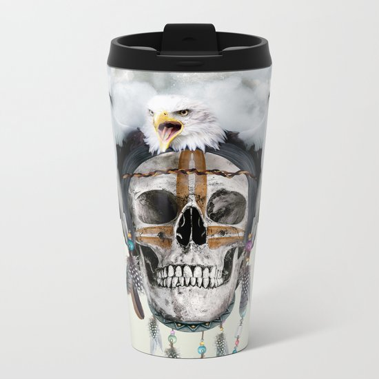 Wild Spirit III Metal Travel Mug