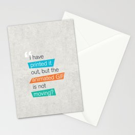 animated GIF  Stationery Cards