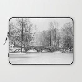 Stone Bridge Clove Lake Park Laptop Sleeve