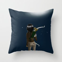 When the stars are the only things we share Throw Pillow