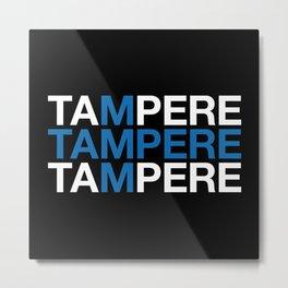 TAMPERE Metal Print
