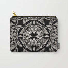 Art Deco 42 Black and gray ornament . Carry-All Pouch