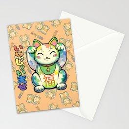 Maneki Neko Lucky Stationery Cards
